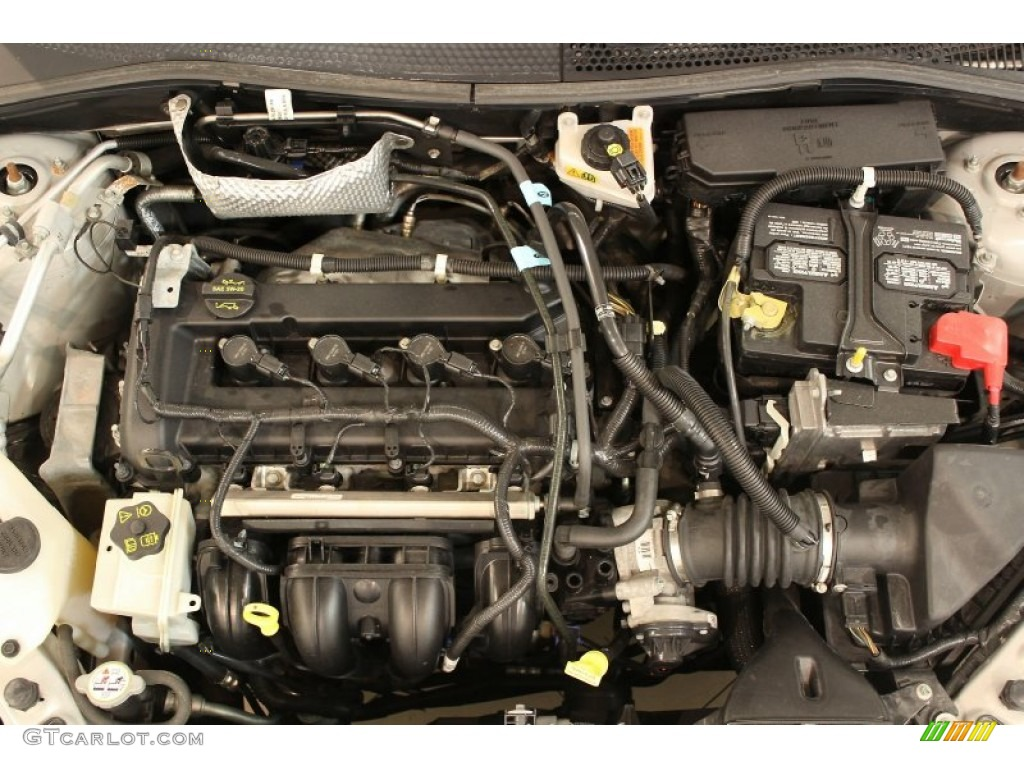 2008 Ford Focus Se Sedan 2 0l Dohc 16v Duratec 4 Cylinder Engine Photo  62675162