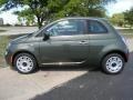 Verde Oliva (Green) 2012 Fiat 500 Pop Exterior