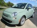 Verde Chiaro (Light Green) 2012 Fiat 500 Pop Exterior