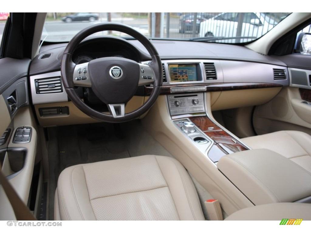 Barley Truffle Interior 2009 Jaguar Xf Luxury Photo