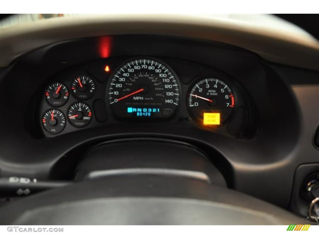 2003 Chevrolet Monte Carlo SS Gauges Photos