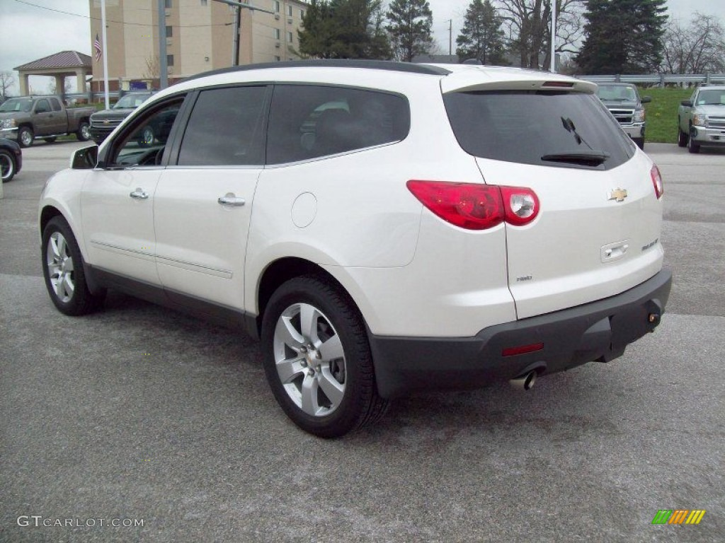 white diamond tricoat 2012 chevrolet traverse ltz awd exterior photo. Cars Review. Best American Auto & Cars Review