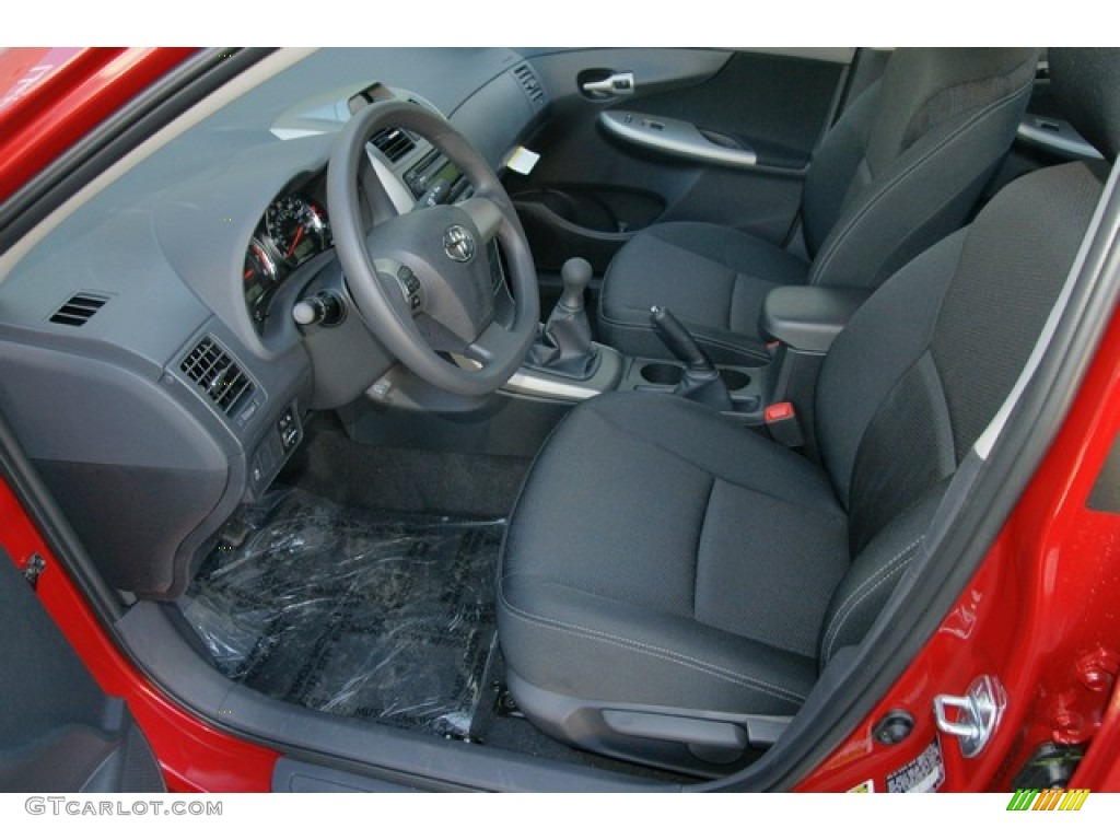 2012 Toyota Corolla S Interior Photo 62698029