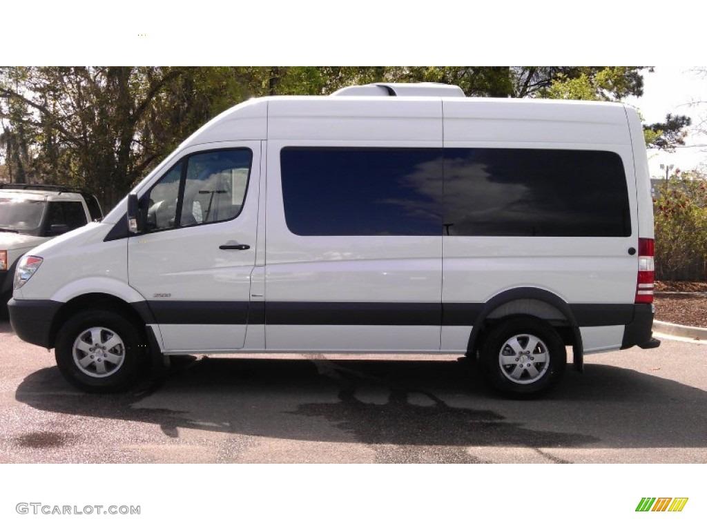 White Passenger Van 2012 Arctic Whi...
