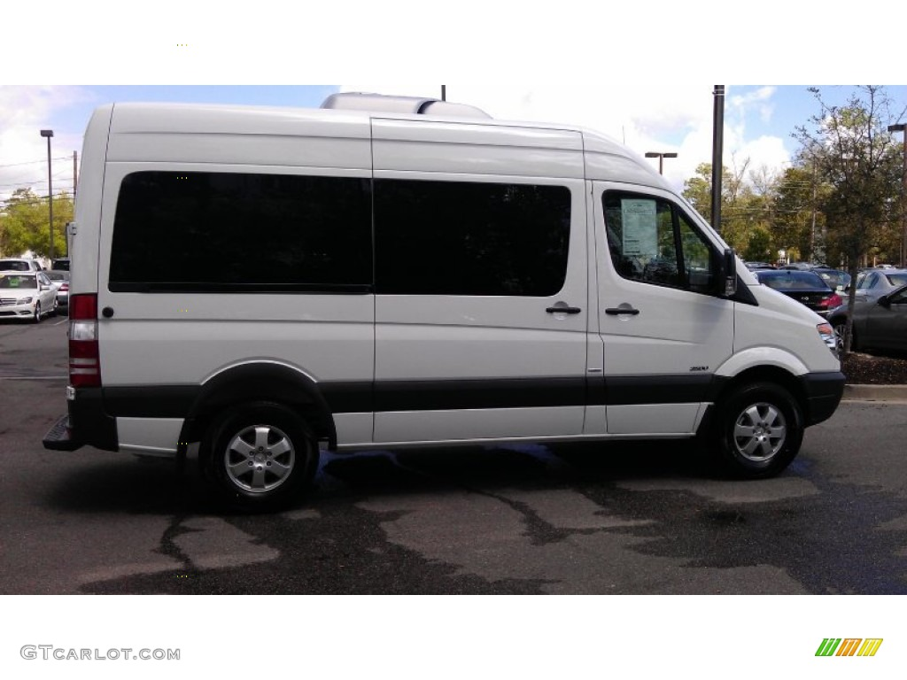 2012 arctic white mercedes benz sprinter 2500 high roof for 2012 mercedes benz sprinter 2500
