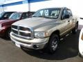 2005 Light Almond Pearl Dodge Ram 1500 SLT Quad Cab 4x4  photo #3