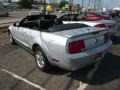 2007 Satin Silver Metallic Ford Mustang V6 Deluxe Convertible  photo #3