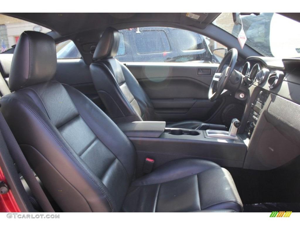 2007 Mustang V6 Premium Coupe - Redfire Metallic / Dark Charcoal photo #7