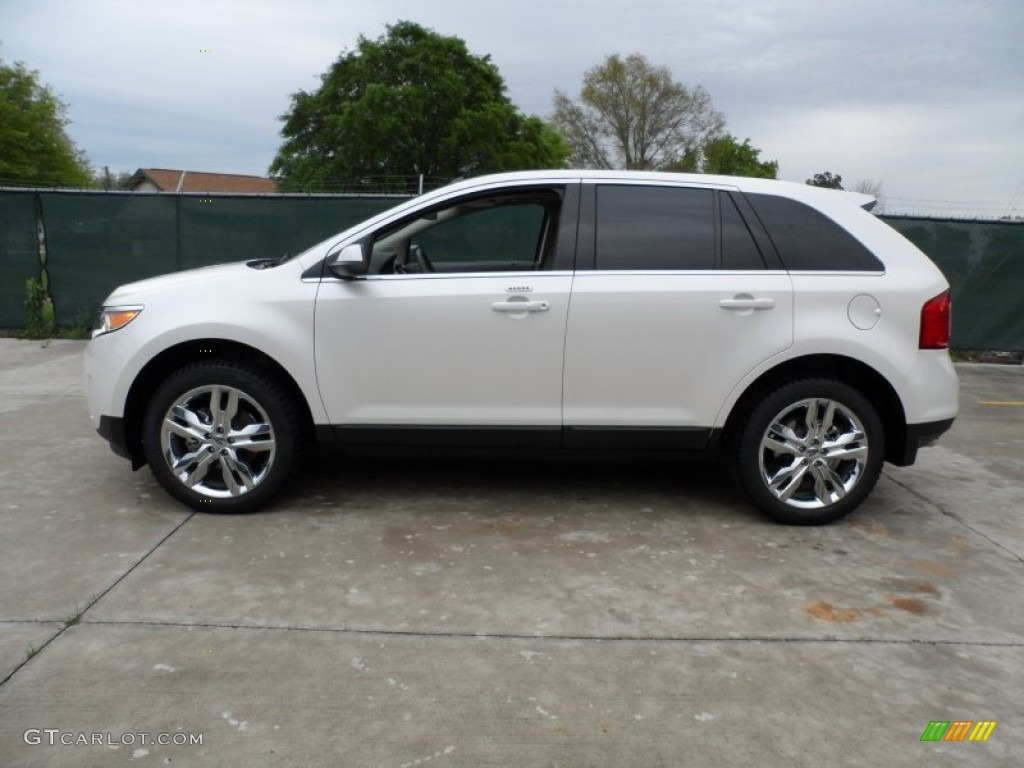 Ford edge sport 2013 white jersey