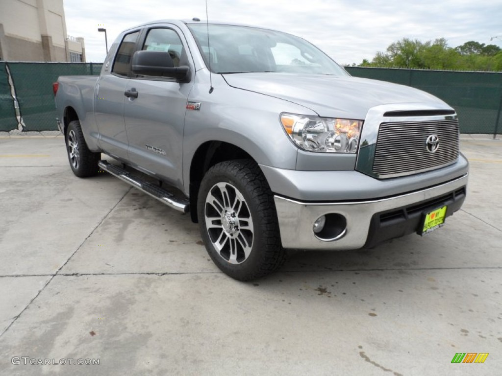 2012 silver sky metallic toyota tundra texas edition double cab 62663283 car. Black Bedroom Furniture Sets. Home Design Ideas