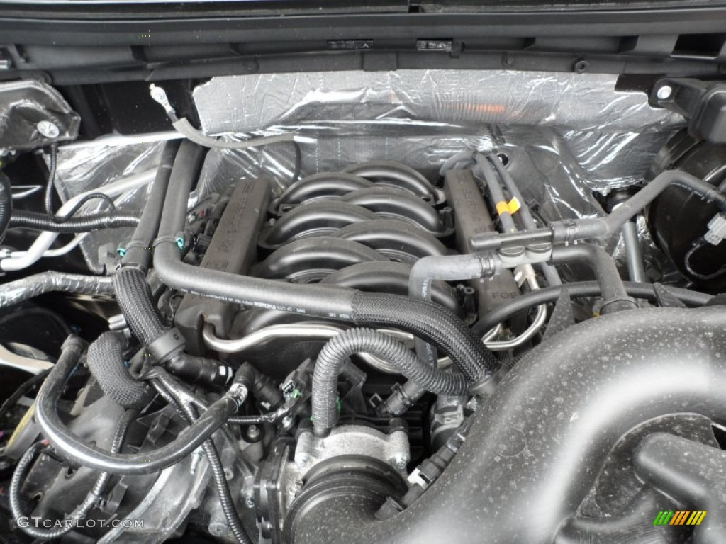 2012 ford f150 lariat supercrew 4x4 5 0 liter flex fuel for Motor ford f150 v8