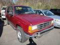 1994 Electric Red Metallic Ford Explorer XLT 4x4  photo #1