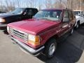 1994 Electric Red Metallic Ford Explorer XLT 4x4  photo #4