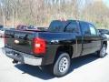 2012 Black Chevrolet Silverado 1500 LS Extended Cab 4x4  photo #8