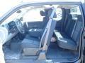 2012 Black Chevrolet Silverado 1500 LS Extended Cab 4x4  photo #16