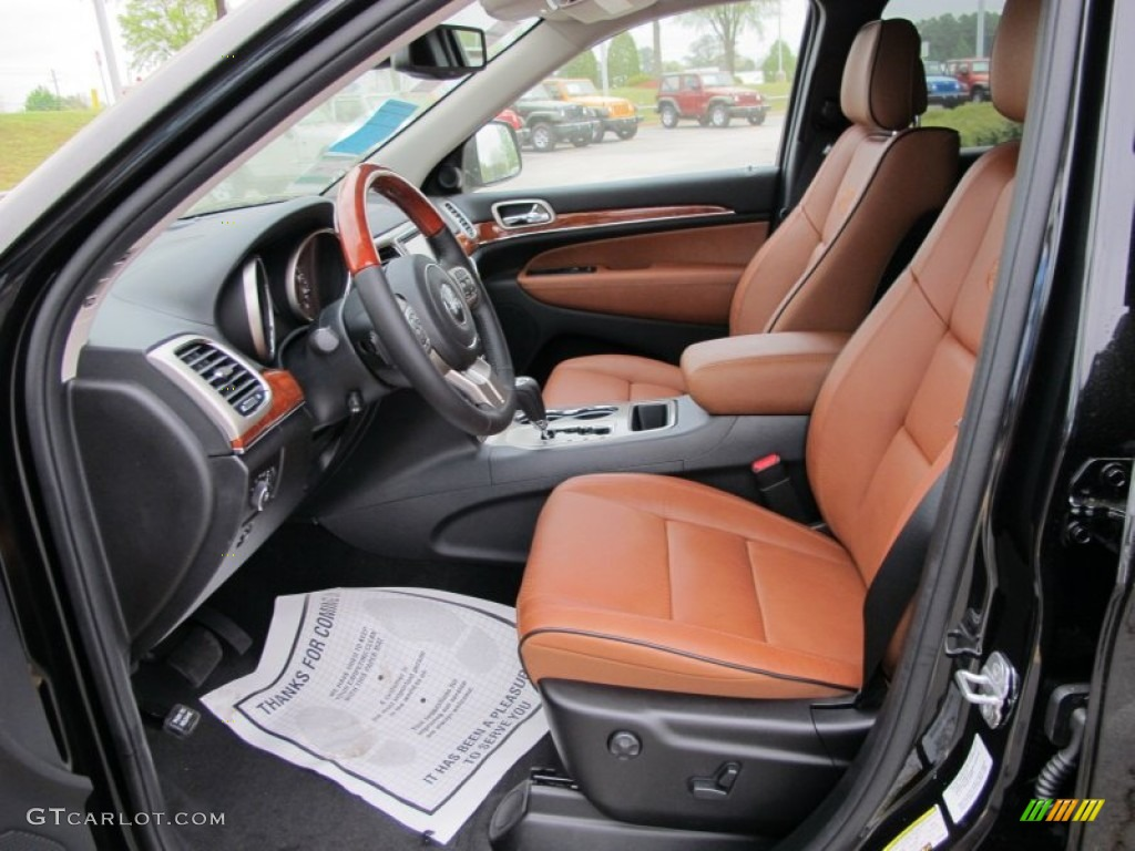 new saddle black interior 2012 jeep grand cherokee overland photo 62725123. Black Bedroom Furniture Sets. Home Design Ideas