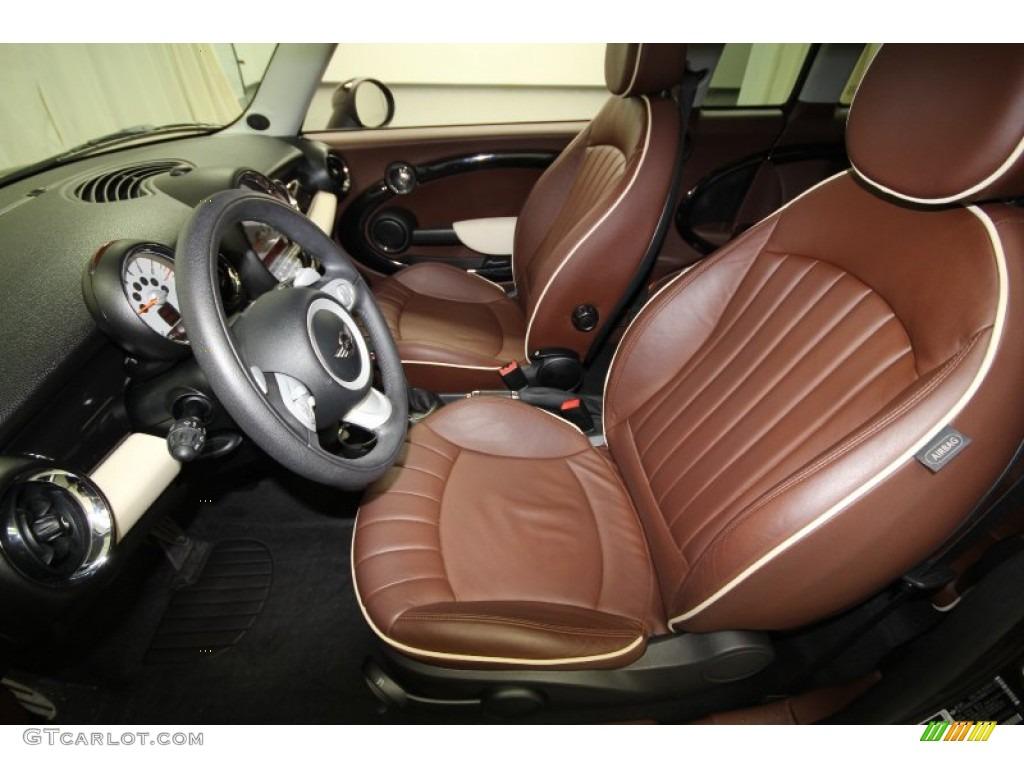 Lounge Hot Chocolate Leather Interior 2009 Mini Cooper S Clubman Photo 62727763
