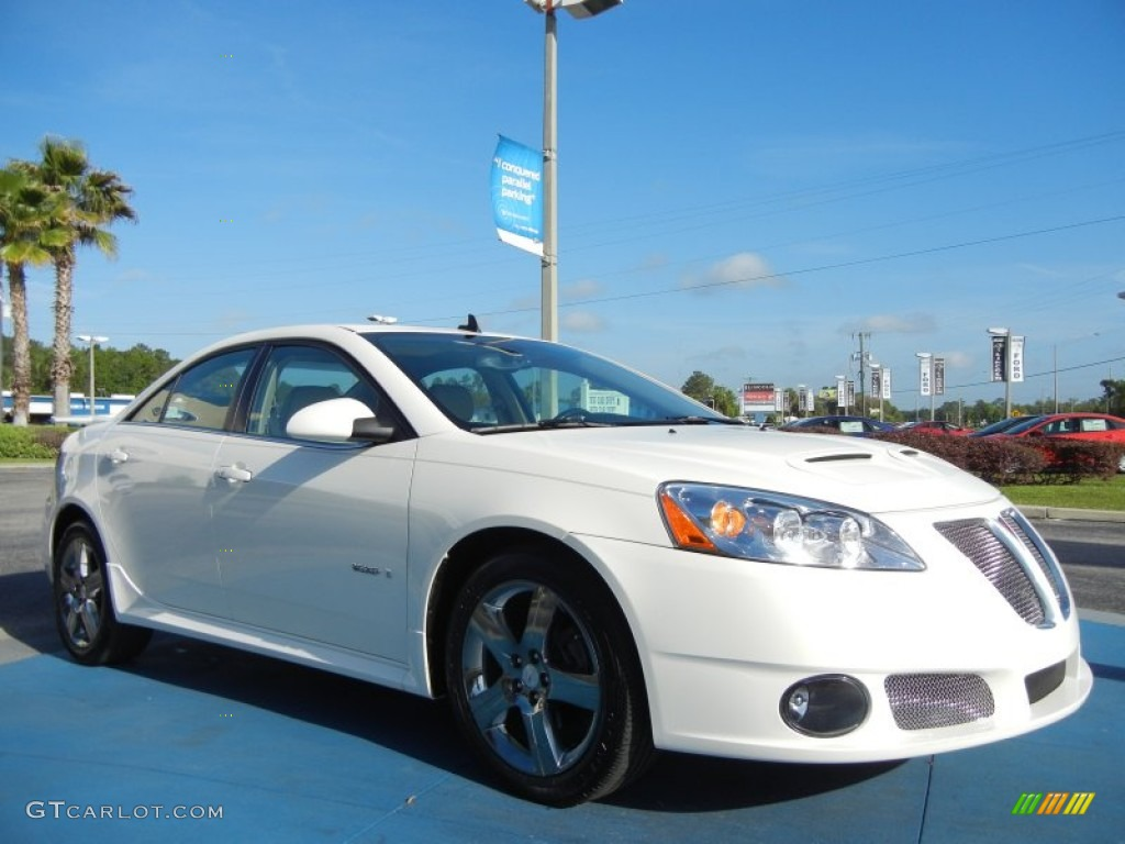 Ivory White 2008 Pontiac G6 Gxp Sedan Exterior Photo