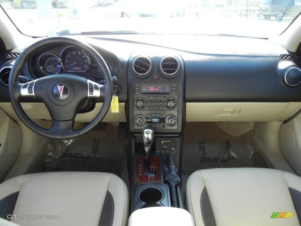 2008 Pontiac G6 Gxp Sedan Light Taupe Dashboard Photo
