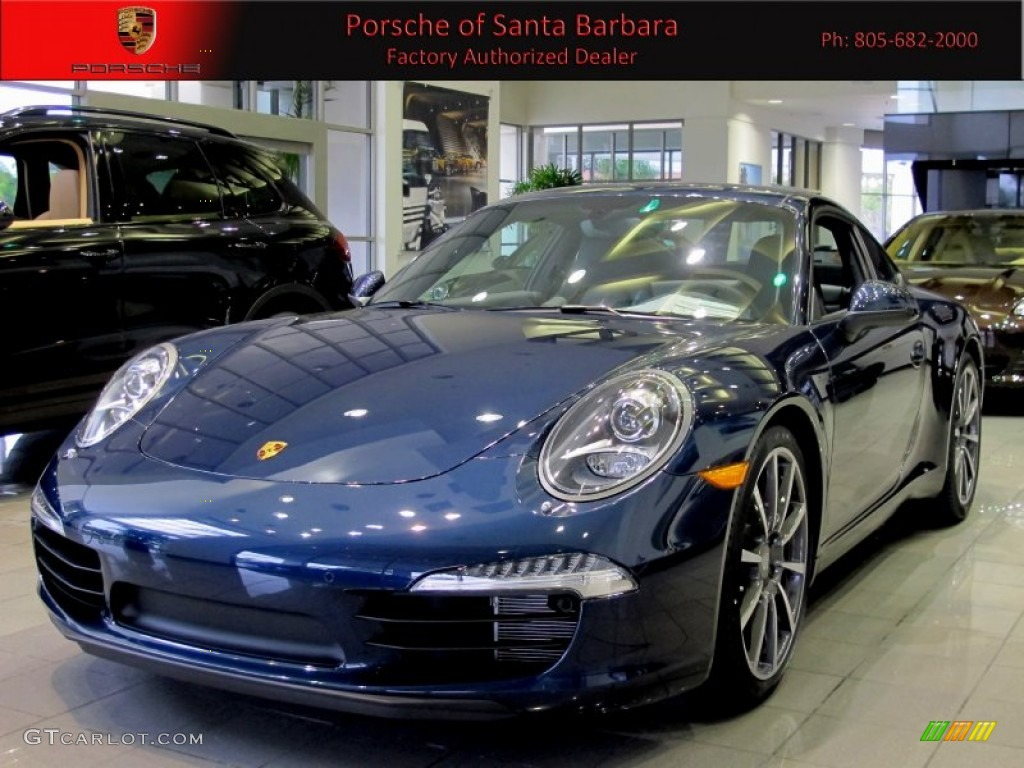 2012 dark blue metallic porsche new 911 carrera s coupe 62714575 car color. Black Bedroom Furniture Sets. Home Design Ideas
