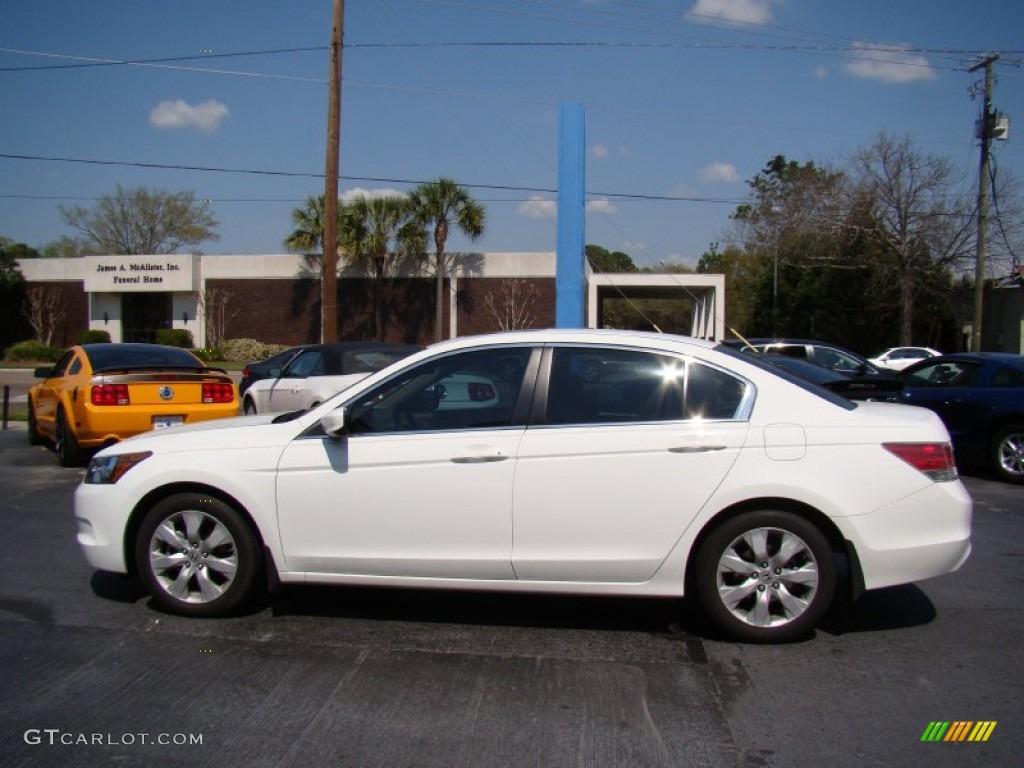 taffeta white 2010 honda accord ex sedan exterior photo