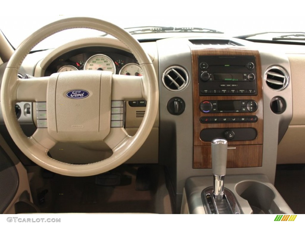 2004 Ford F150 Lariat >> 2004 Ford F150 Lariat Supercrew 4x4 Tan Dashboard Photo