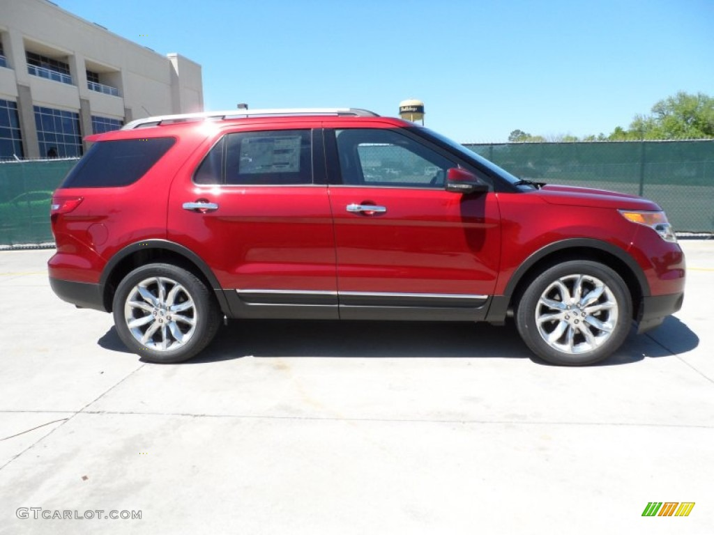 ruby red metallic 2013 ford explorer limited exterior photo 62752783. Black Bedroom Furniture Sets. Home Design Ideas
