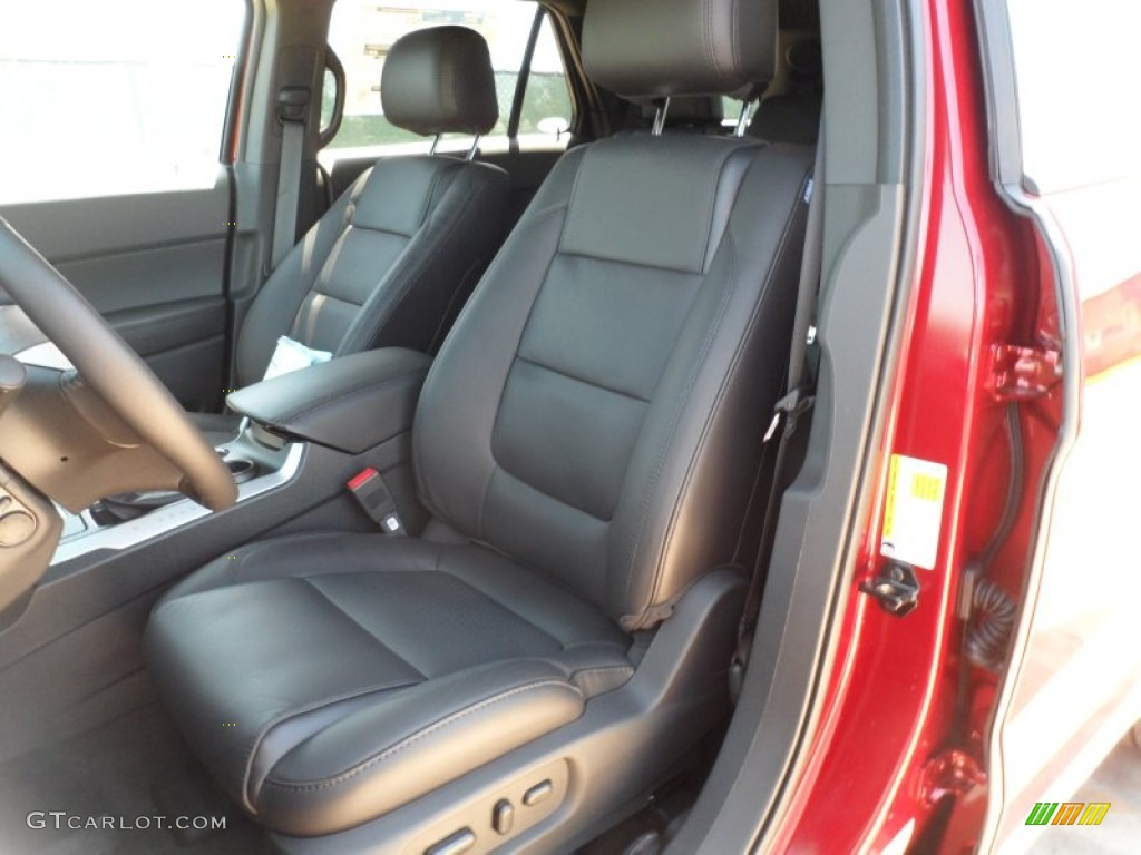 Charcoal Black Interior 2013 Ford Explorer Limited Photo #62752945