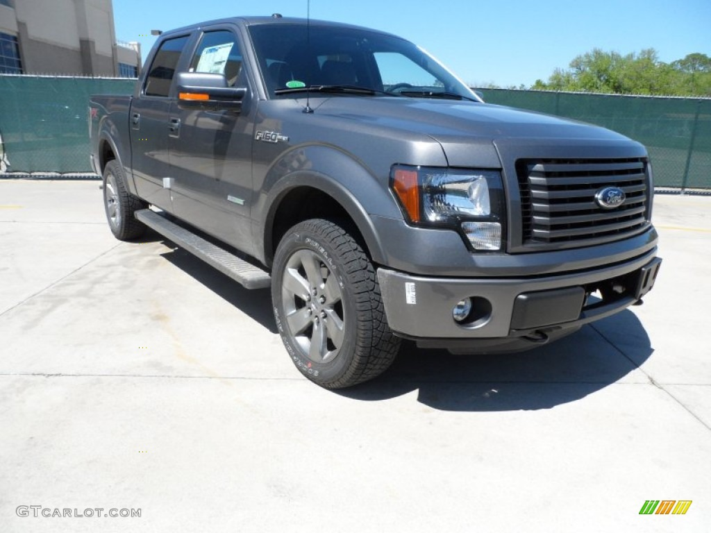 sterling gray metallic 2012 ford f150 fx4 supercrew 4x4 exterior photo 62754022. Black Bedroom Furniture Sets. Home Design Ideas