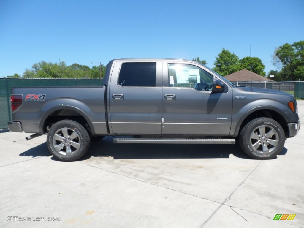 sterling gray metallic 2012 ford f150 fx4 supercrew 4x4 exterior photo 62754025. Black Bedroom Furniture Sets. Home Design Ideas