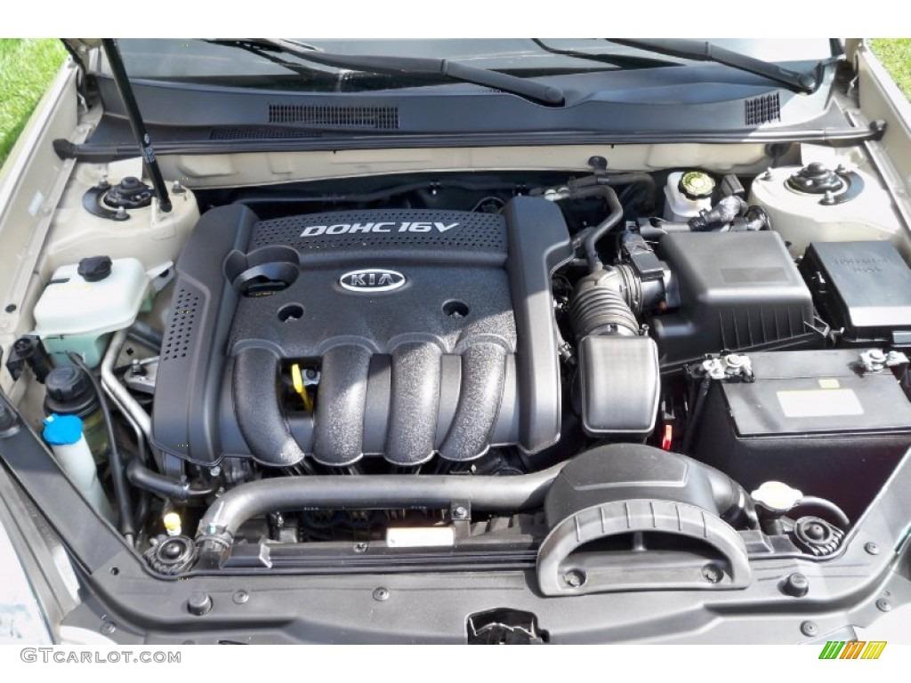 2007 Kia Optima Lx 2 4 Liter Dohc 16 Valve 4 Cylinder Engine Photo 62758680 Gtcarlot Com