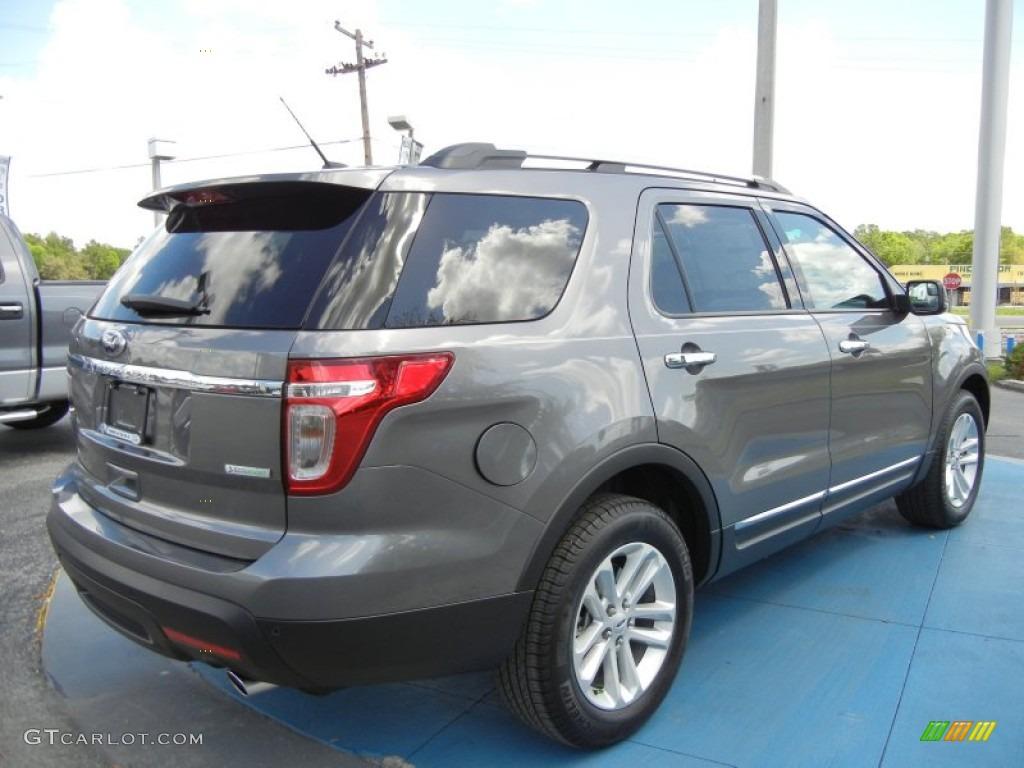 2015 Ford Explorer XLT Metallic Gray