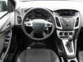 2012 Tuxedo Black Metallic Ford Focus SE Sedan  photo #7