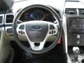 Medium Light Stone Steering Wheel Photo for 2011 Ford Explorer #62771088