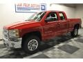 2012 Victory Red Chevrolet Silverado 1500 LS Extended Cab 4x4  photo #21