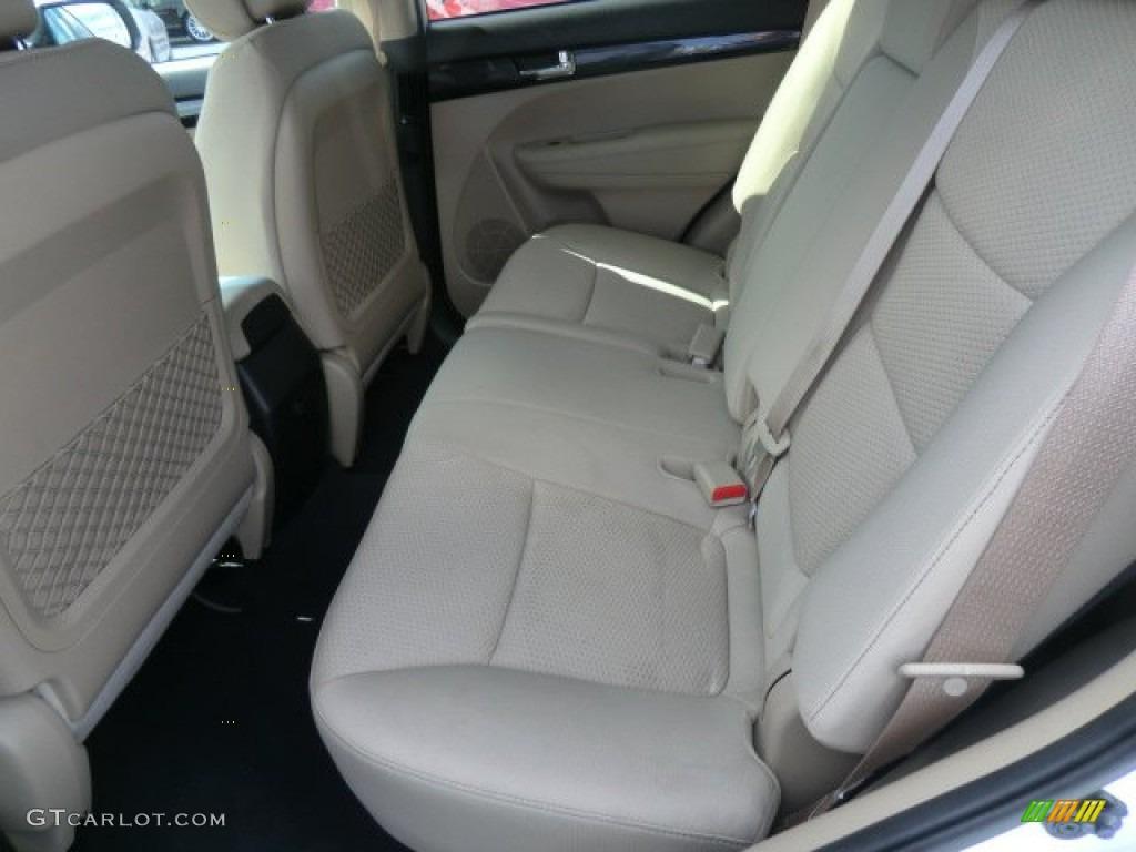 beige interior 2011 kia sorento lx v6 awd photo 62788419. Black Bedroom Furniture Sets. Home Design Ideas
