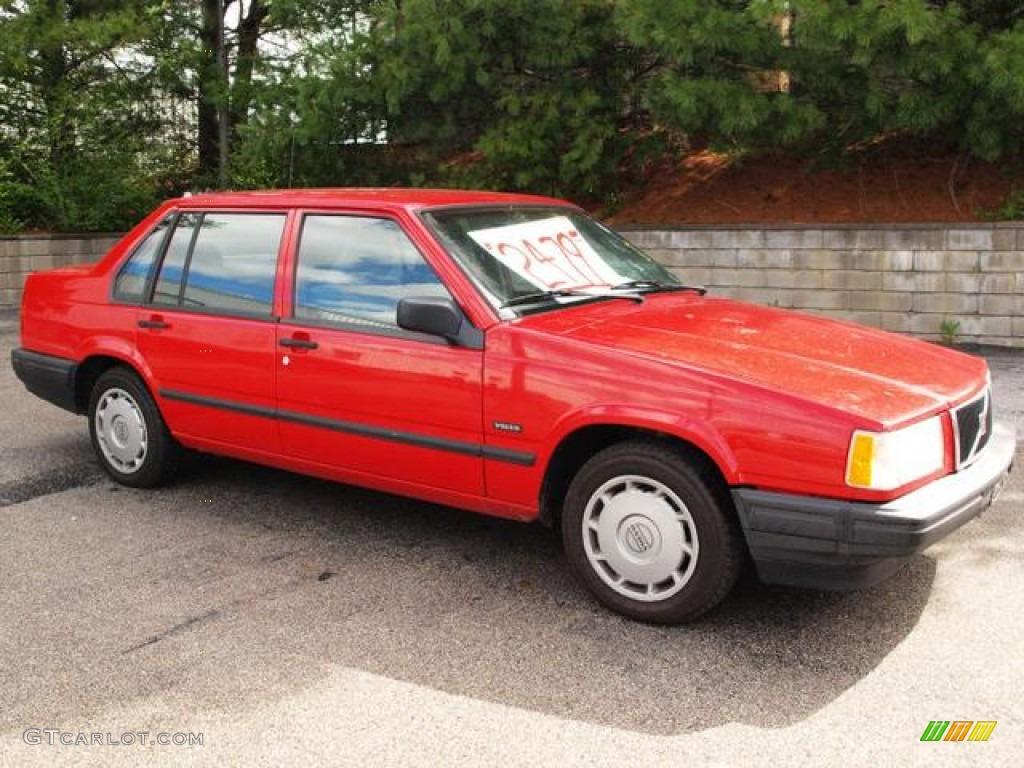 1995 Red Volvo 940 Turbo Sedan 62757243 Gtcarlot Com