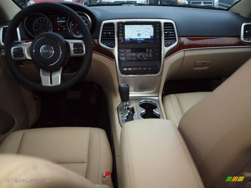 2012 Grand Cherokee Limited 4x4 - True Blue Pearl / Black/Light Frost ...
