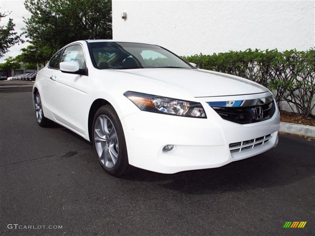 2012 taffeta white honda accord ex l v6 coupe 62757134 car color galleries. Black Bedroom Furniture Sets. Home Design Ideas