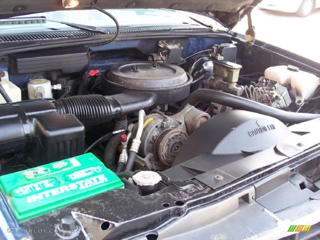 1993 chevrolet suburban k1500 4x4 5 7 liter ohv 16 valve v8 engine photo 62810350. Black Bedroom Furniture Sets. Home Design Ideas