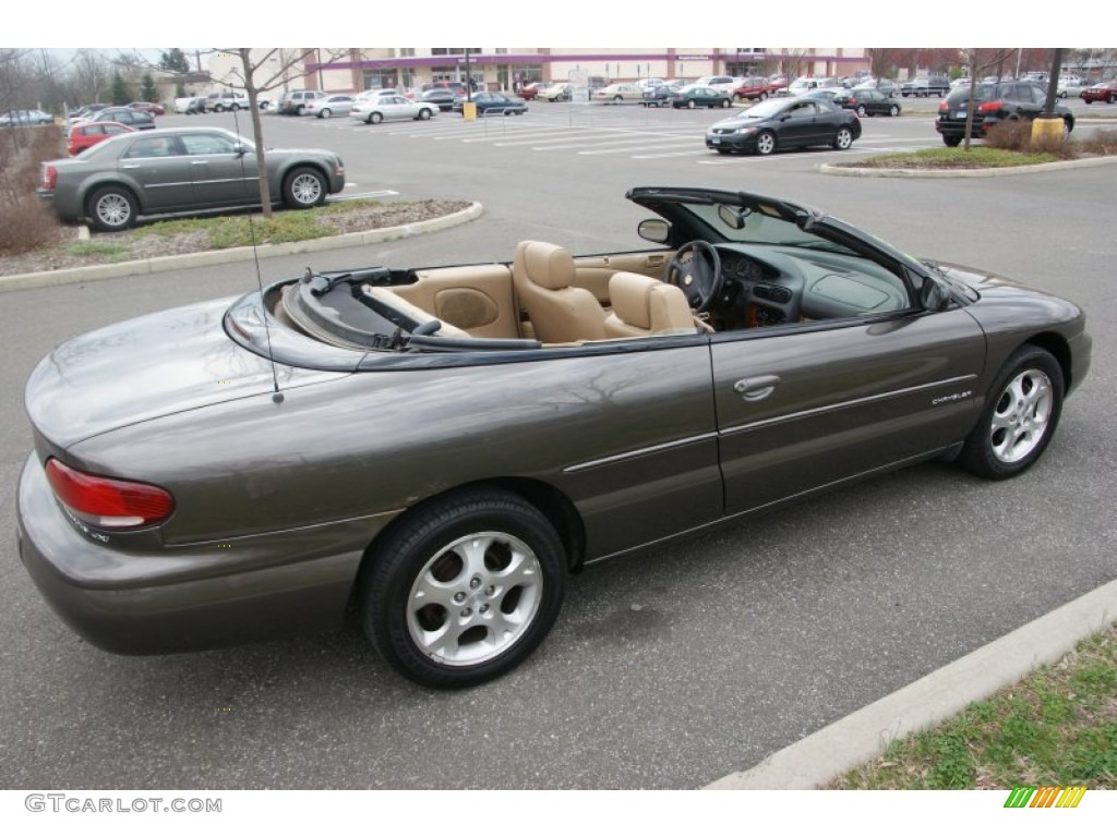 Taupe Frost Metallic 2000 Chrysler Sebring Jxi Convertible Exterior Photo 62812397