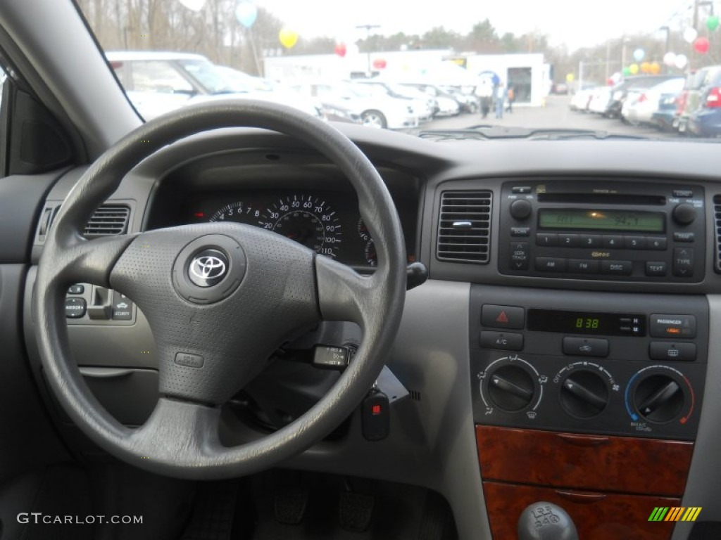 2007 Toyota Corolla LE Stone Dashboard Photo 62814640