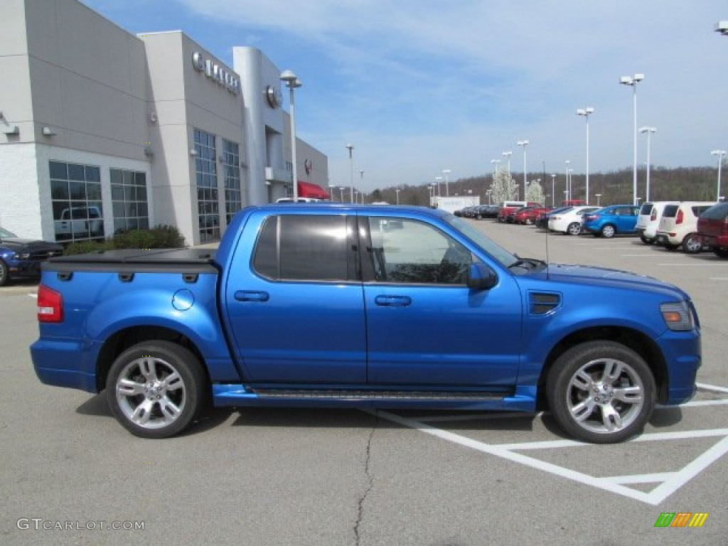 blue flame metallic 2010 ford explorer sport trac adrenalin awd exterior photo 62816365. Black Bedroom Furniture Sets. Home Design Ideas