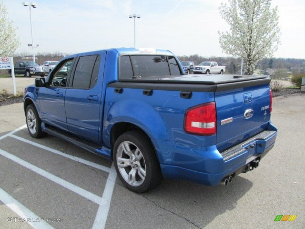 blue flame metallic 2010 ford explorer sport trac adrenalin awd exterior photo 62816407. Black Bedroom Furniture Sets. Home Design Ideas