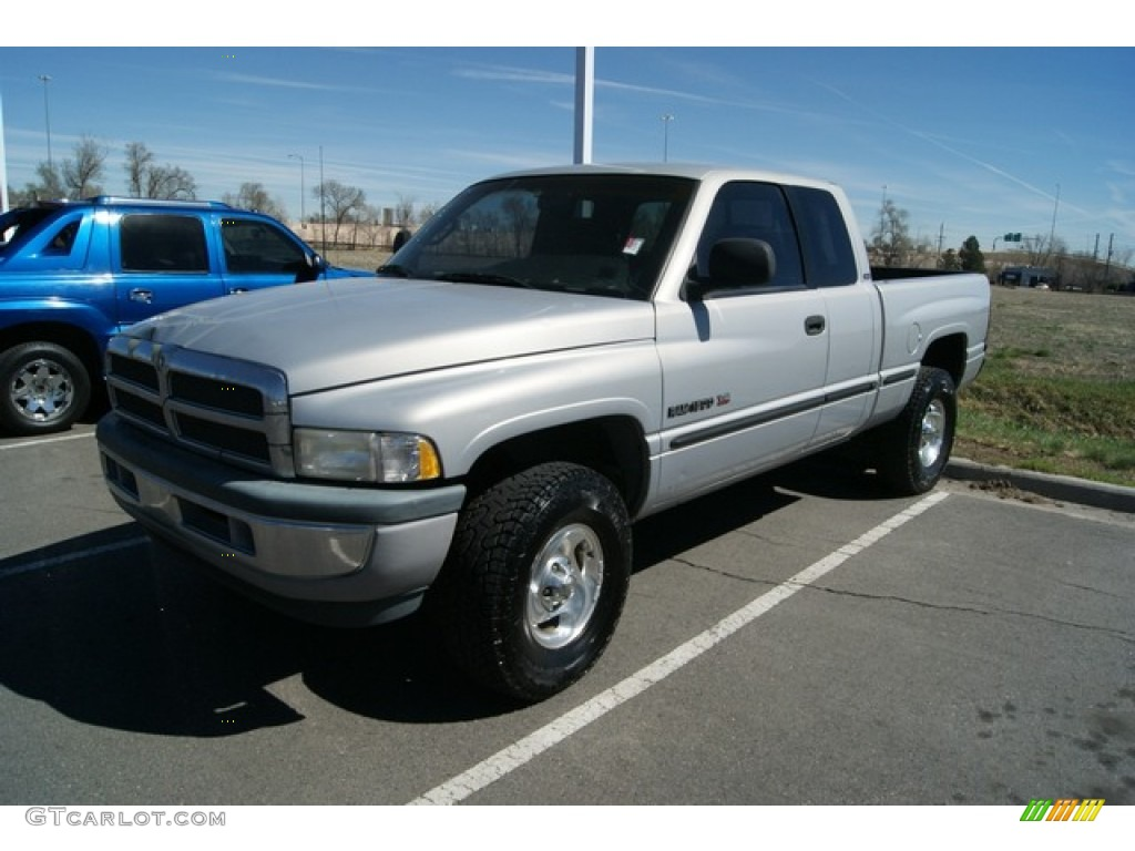 radiant silver metallic 1998 dodge ram 1500 laramie slt. Black Bedroom Furniture Sets. Home Design Ideas