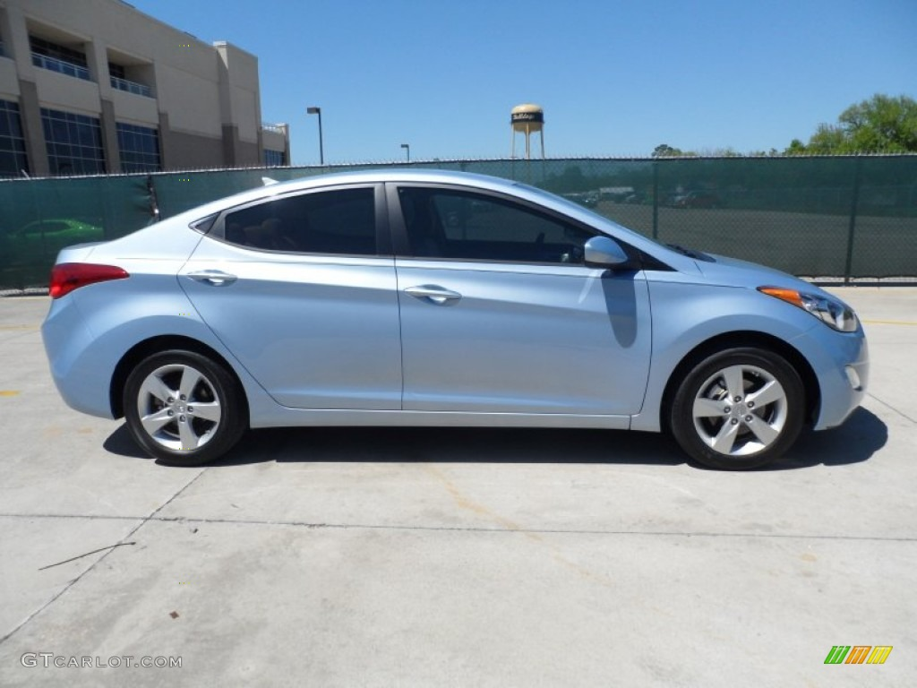 Blue Sky Metallic 2012 Hyundai Elantra Gls Exterior Photo