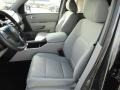 2012 Honda Pilot Gray Interior Front Seat Photo