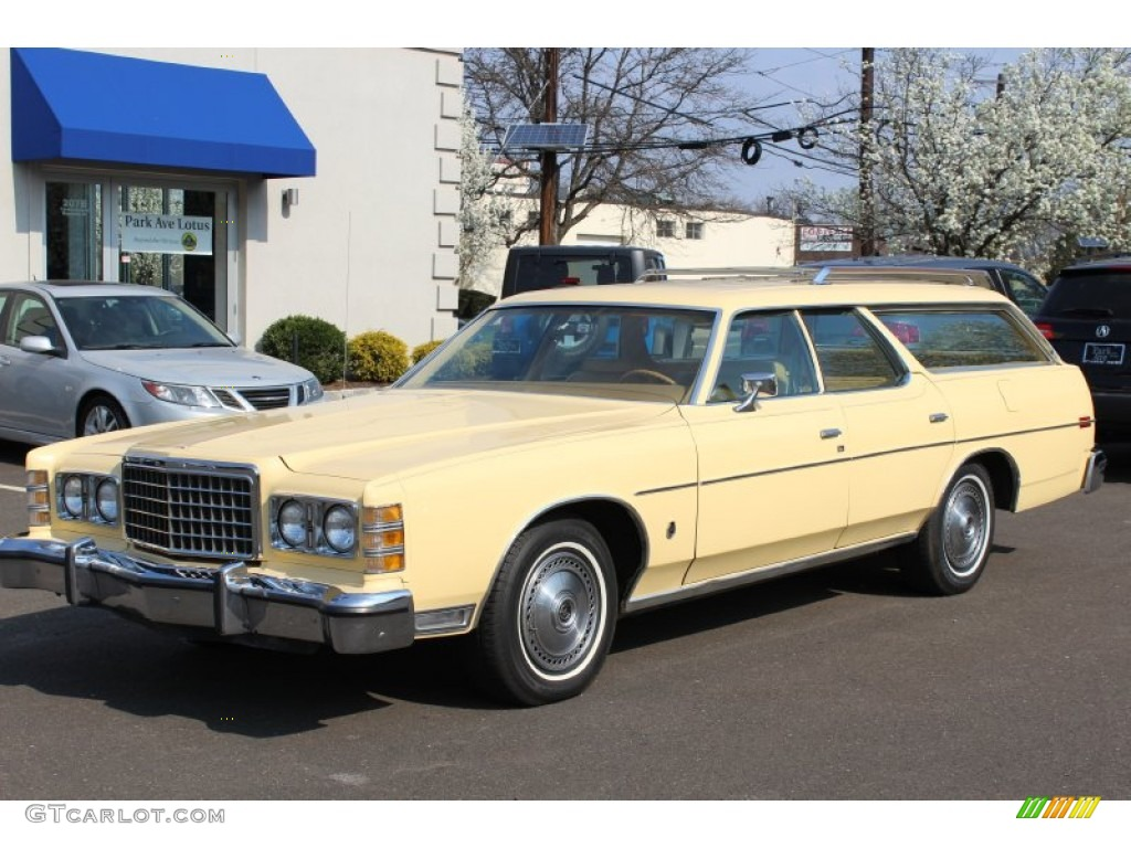 Antique cream 1978 ford ltd wagon exterior photo 62843344