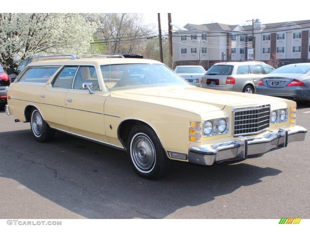 Antique cream 1978 ford ltd wagon exterior photo 62843359