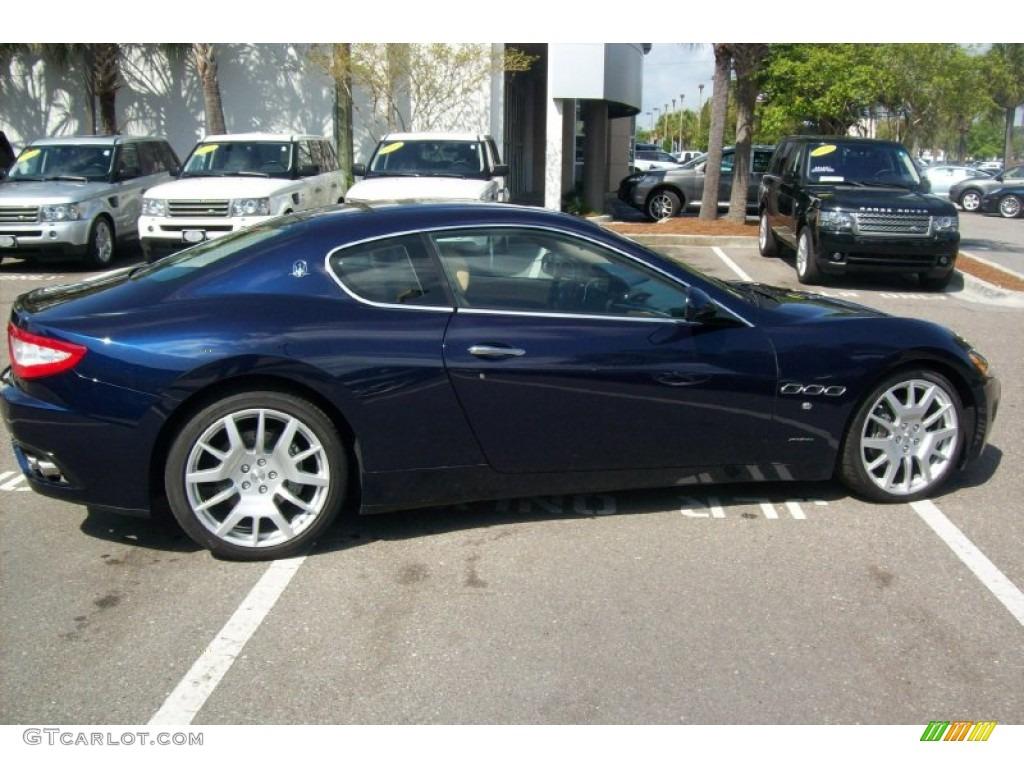 Maserati granturismo blue - photo#14